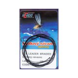Hends Fly Leader Braided Tapered Black