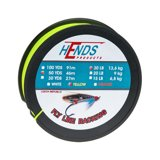 Hends Fly Line Backing Żółty Fluo 50yds 20lbs
