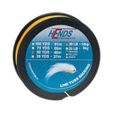 Hends Line Tube Backing Pomarańczowy Fluo 50yds 20lbs