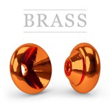Ring Brass Hot Metallic Orange