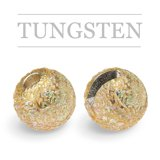 Slotted Tungsten Beads Sunny Gold