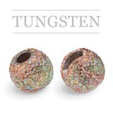 Slotted Tungsten Beads Sunny Mixed