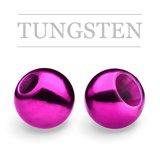 Tungsten Beads Metallic Purple