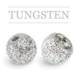 Tungsten Beads Sunny Silver