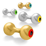 BG Dumbbell Eyes