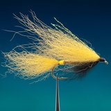 (0400) Fox Mylar Streamer Yellow