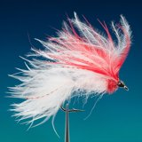 (0470) Marabu Streamer White / Red