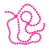 BG Bead Chain Eyes Hot Fluo Pink