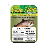Frog Hair Freshwater Mono Tapered Leader 2,90m