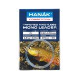 Hanak Tapered Knotless Mono Leader Clear 2,7m