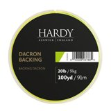 Hardy Dacron Backing Lime Green 100yds 20lbs