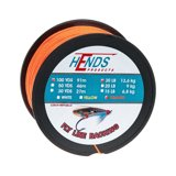 Hends Fly Line Backing Pomarańczowy Fluo 100yds 20lbs