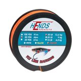 Hends Fly Line Backing Pomarańczowy Fluo 50yds 30lbs