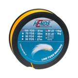 Hends Line Tube Backing Pomarańczowy Fluo 100yds 20lbs