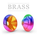 Ring Brass Hot Metallic Rainbow