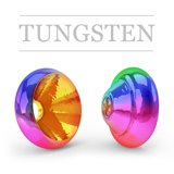 Ring Tungsten Metallic Rainbow