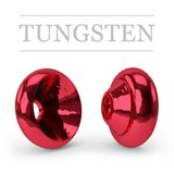 Ring Tungsten Metallic Red