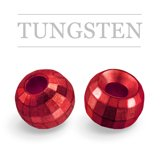 Tungsten Beads Reflex Metallic Red