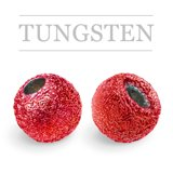 Tungsten Beads Sunny Metallic Red