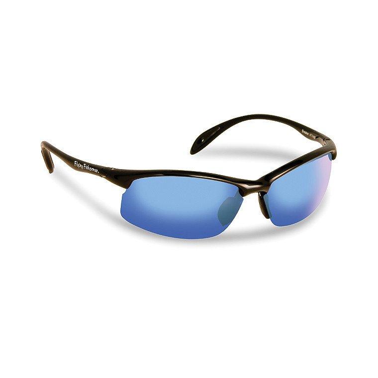4b54142dd3293 Flying Fisherman Okulary Breaker Black - Smoke Blue Mirror
