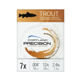 Cortland Precision Tapered Leader Trout 3,60 m