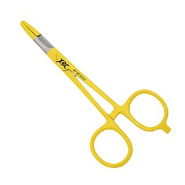 "Dr. Slick XBC Scissor Clamp 5"" Yellow Straight"