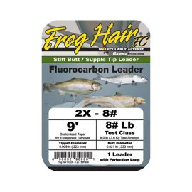 Frog Hair Fluorocarbon Tapered Leader 2,75m