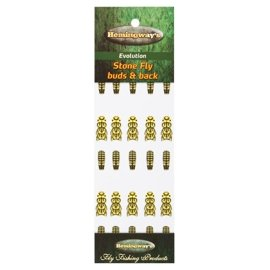 Hemingway's Evolution Stone Fly Buds & Back Light Yellow