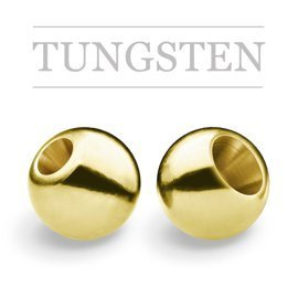 Regular Tungsten Beads Gold
