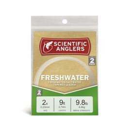 Scientific Anglers Freshwater Tapered Leader 2,74m 2-Pack