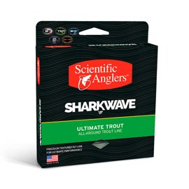 Scientific Anglers SharkWave Ultimate Trout Mist Green-Willow-Dk.Willow Pływający WF