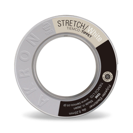 Tiemco Akron Stretch Tippet 0,20mm White